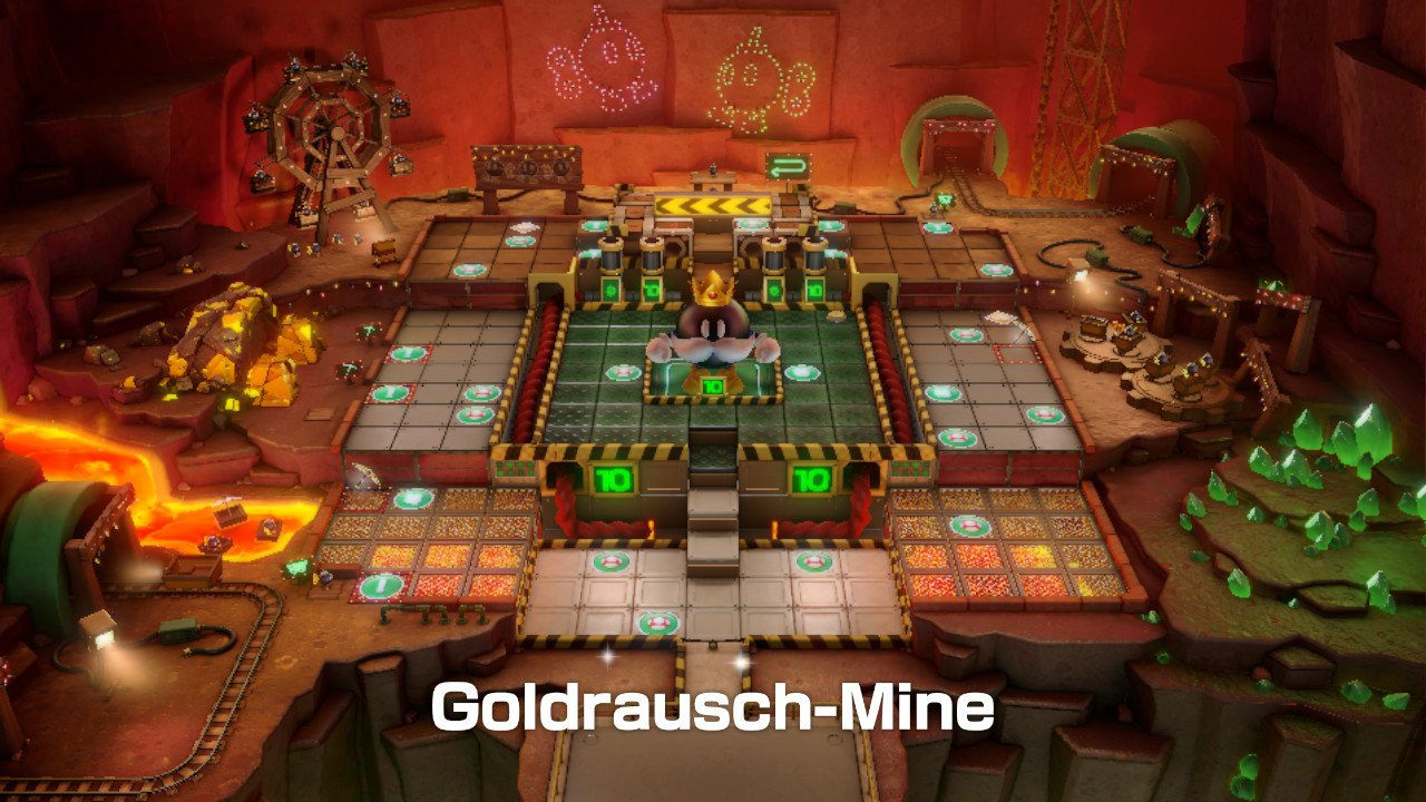 Goldrausch-Mine